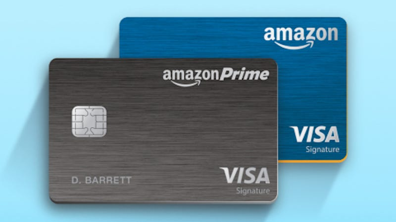 Illustration for article titled Amazon's Prime Credit Card Now Gets You Five Percent Back On All Amazon Purchases