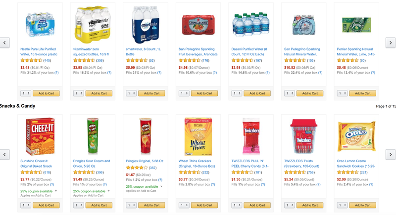 FREE Prime Pantry shipping with purchase of five eligible items and promo code PANTRYJUL
