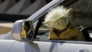 Illustration for article titled Yoda Is a Real Bastard When He Drinks and Drives