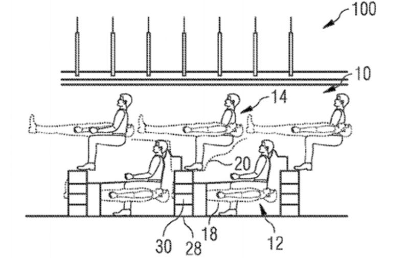Illustration for article titled Airbus Just Went AllThe Human CentipedeWith These Crazy New Patents