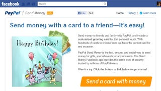 Illustration for article titled PayPal Debuts a Facebook App for Sending Money Between Friends