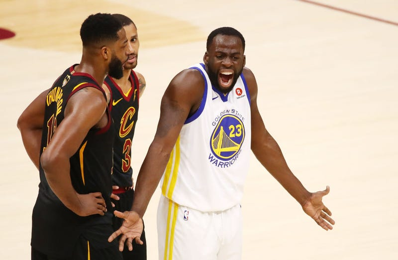 Illustration for article titled Draymond Green Issues Non-Denial Denial Of Tristan Thompson Fight, Drags Cleveland