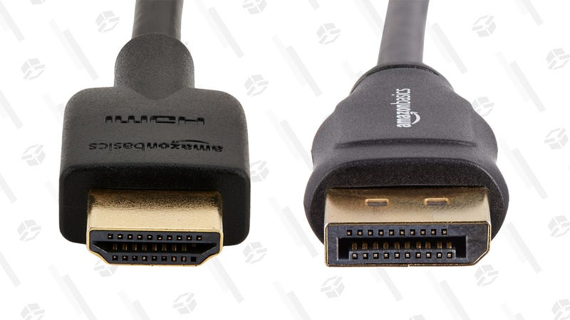 Left: HDMI. Right: DisplayPort