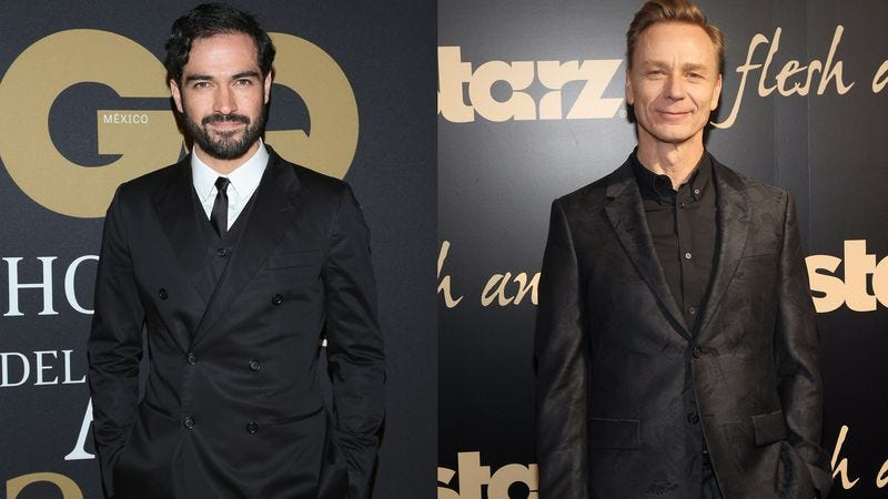 Alfonso Herrera, Ben Daniels (Photos: Getty Images)