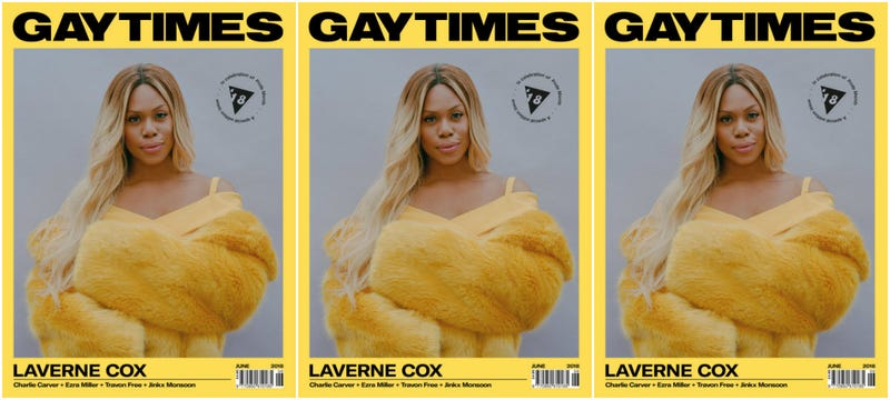 Illustration for article titled #WCW: Laverne Cox Is Beauty Goals on Gay Times' Special Pride Edition