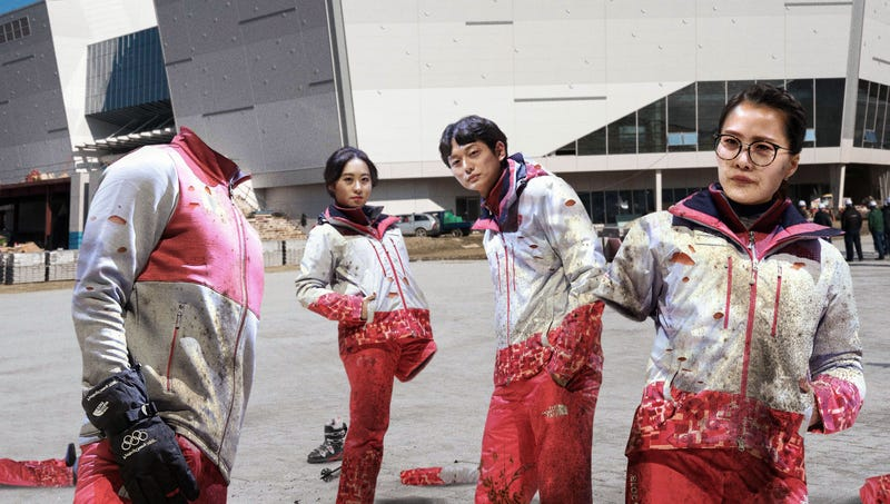 Illustration for article titled Report: PyeongChang Olympic Athletes Already Falling Into State Of Disrepair