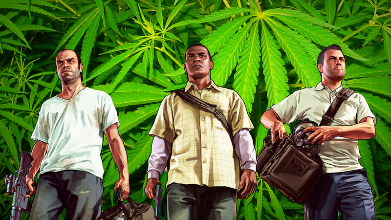 Illustration for article titled You Can Smoke Pot In GTA V, According to Ratings Board