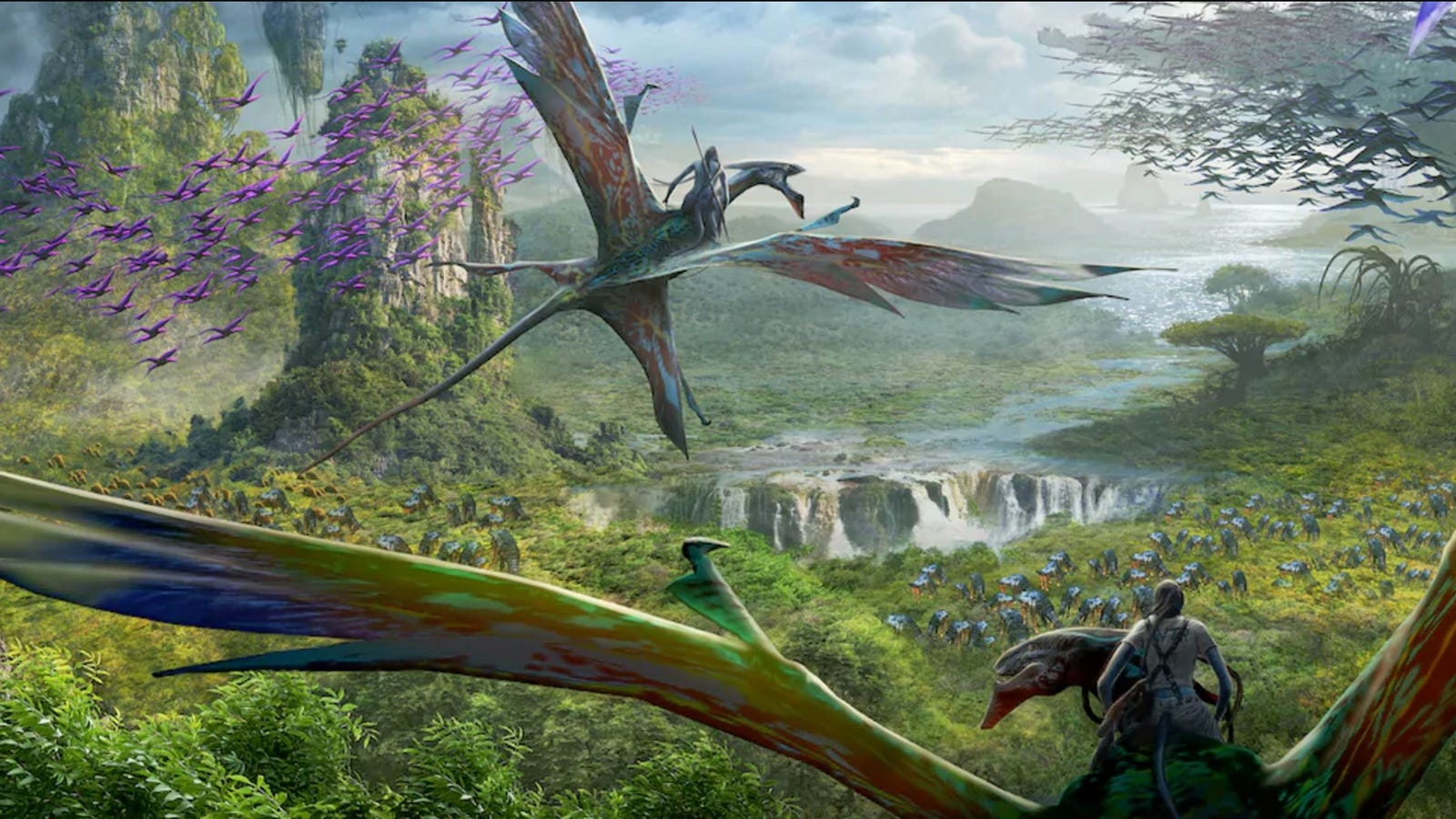 The New Avatar Theme Park Is a Giant Spoiler