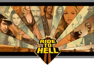 Illustration for article titled Deep Silver's Ride To Hell - GTA Easy Rider?