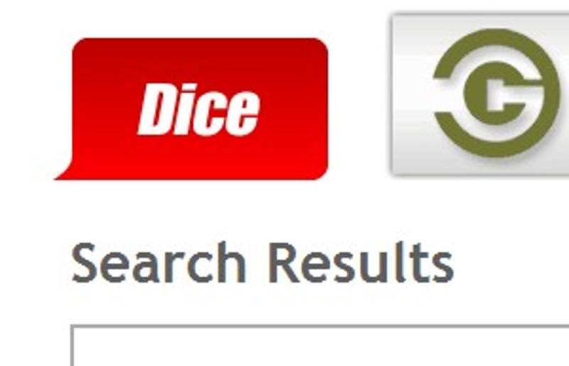 five best job search sites - Dice Resume Search