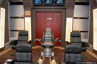 Illustration for article titled Star Trek Home Theater Has Touch of Realism