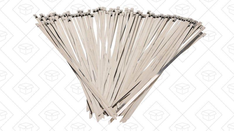 QUWEI Stainless Steel Zip Ties | $11 | Amazon