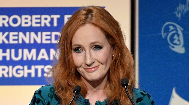 Determined to ruin Harry Potter for us all, J.K. Rowling continues to tweet