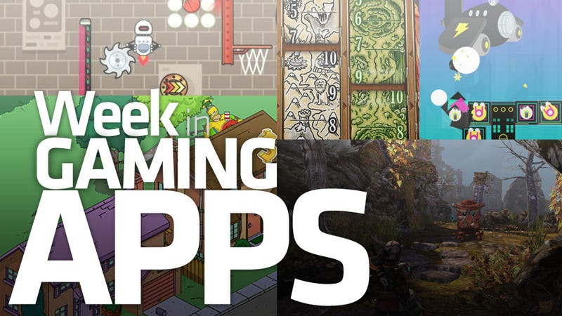 Illustration for article titled The Simpsons are Just the Cursed Topping on One Amazing Week in Gaming Apps