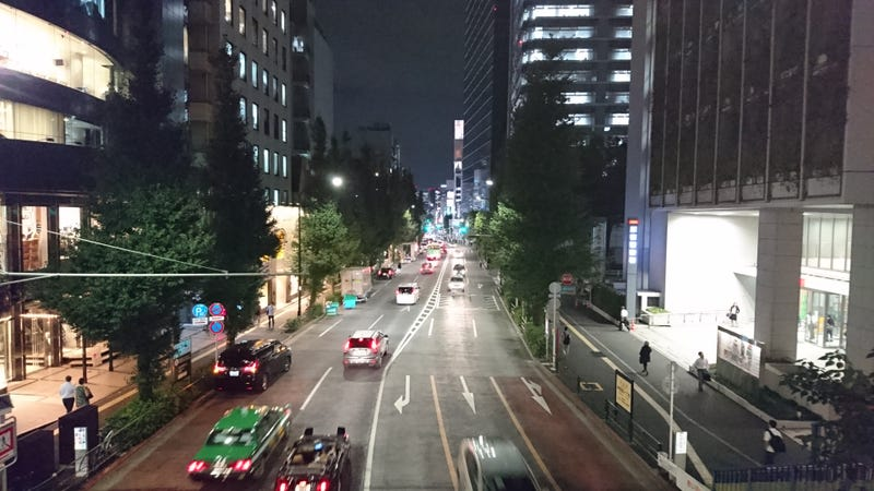 Not your typical touristy Tokyo image...