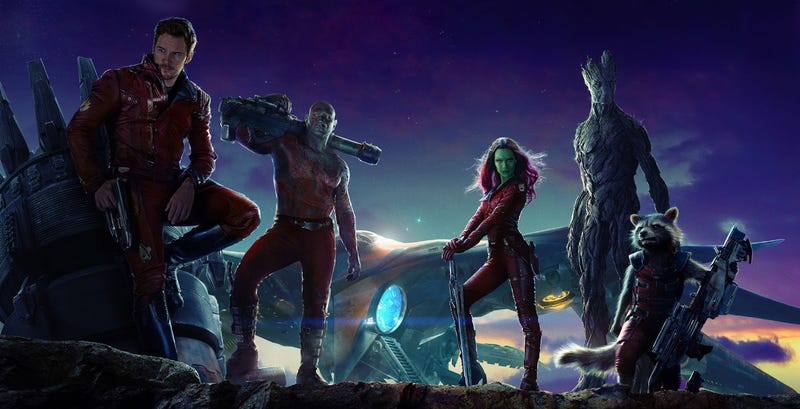 Illustration for article titled Guardians of the Galaxy Vol. 2 Will Be The First Film Shot On the New 8K Red Weapon