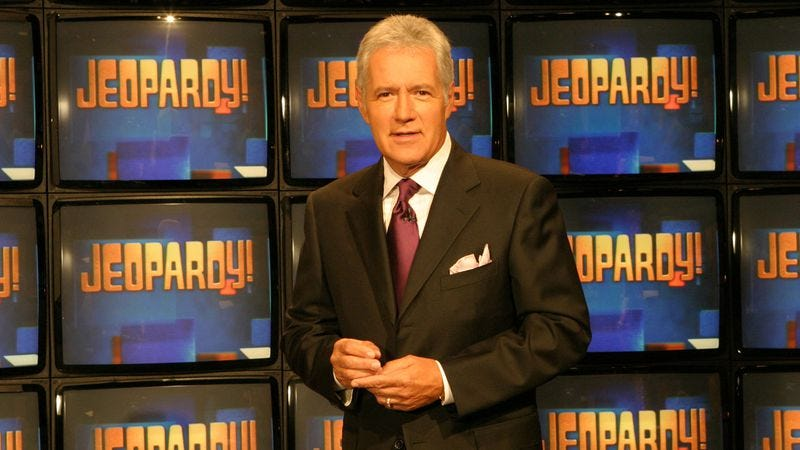 Illustration for article titled Alex Trebek is officialy the most game show hosting-est game show host