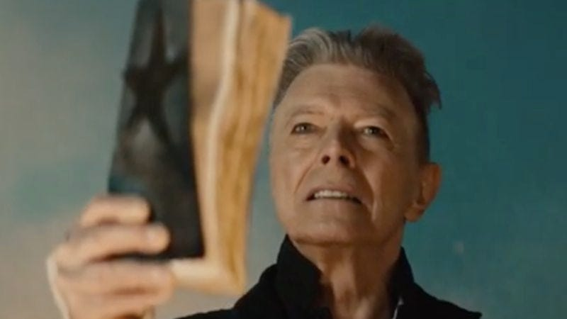 Illustration for article titled David Bowie releases predictably weird trailer for his single's short film