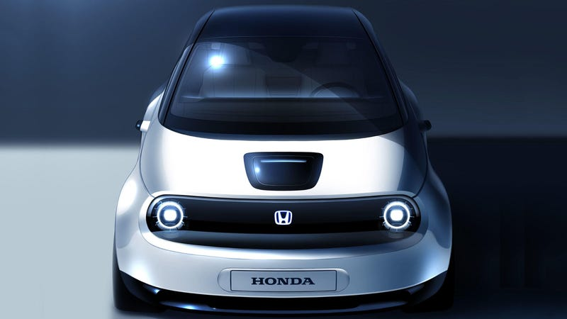 Illustration for article titled Honda's Urban EV Prototype Previews Production Electric Compact
