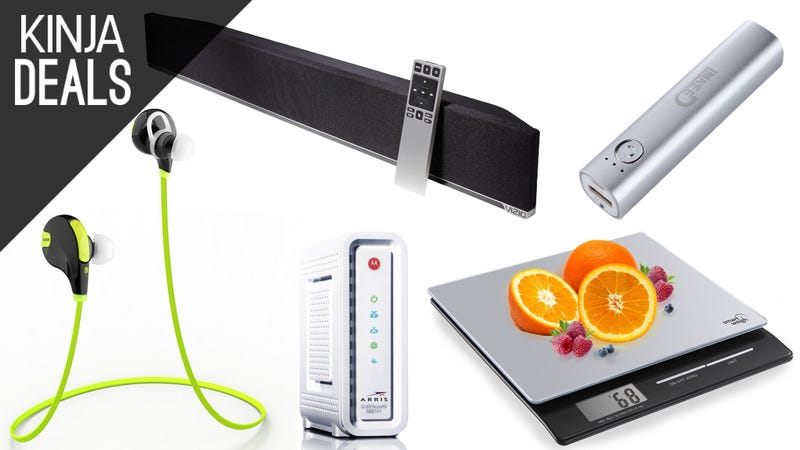 Illustration for article titled Today's Best Deals: Own Your Modem, Wireless Headphones, and More