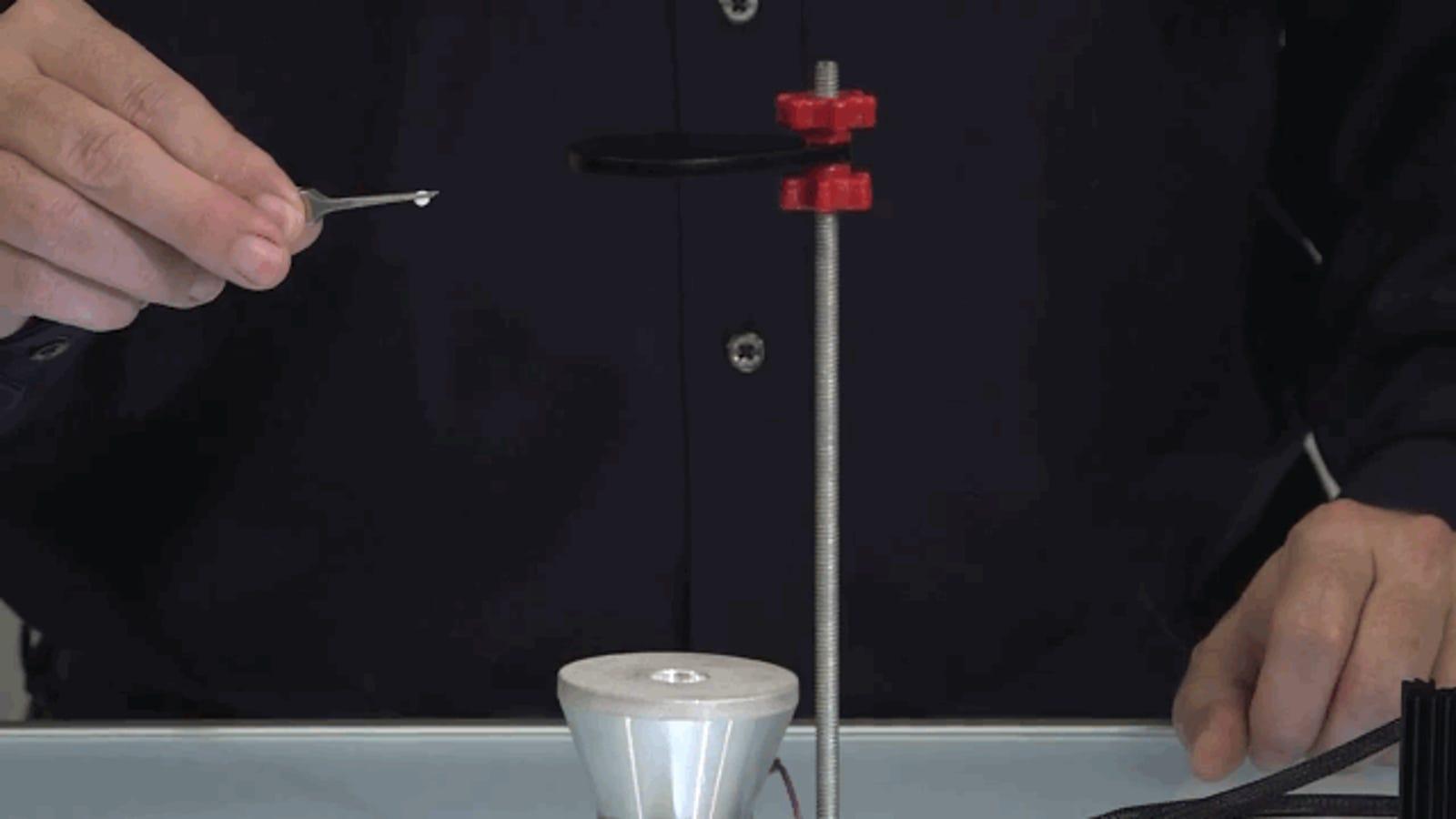 Esta máquina de levitación de $120 es un grandioso juguete