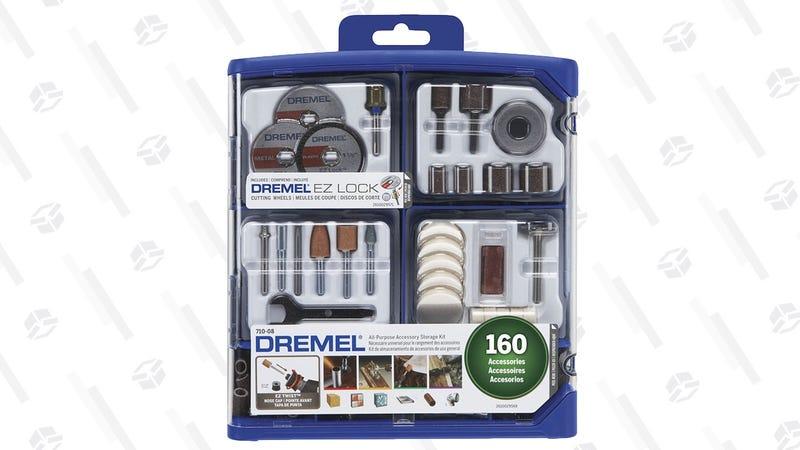 Dremel 160 Piece Accessory Kit | $20 | Amazon