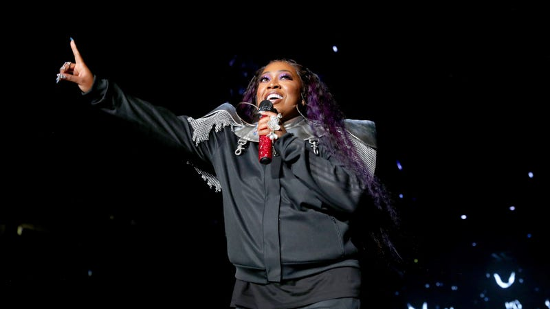 Missy Elliott performs onstage during the 2019 ESSENCE Festival Presented By Coca-Cola on July 05, 2019 in New Orleans, Louisiana.