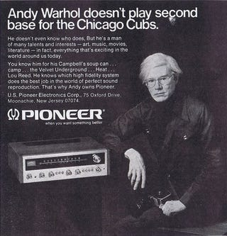 Illustration for article titled Andy Warhol Doesn't Play Second Base For The Chicago Cubs