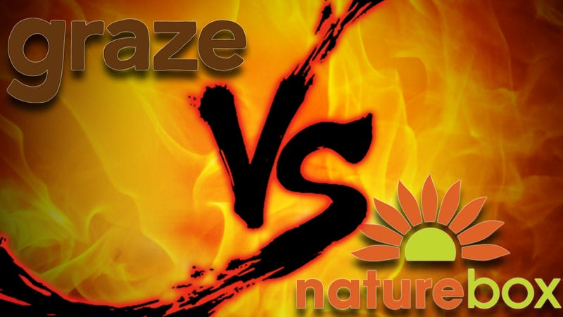 Illustration for article titled Subscription Snack Showdown: Graze vs. Naturebox