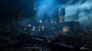 A spooky, spooky house.