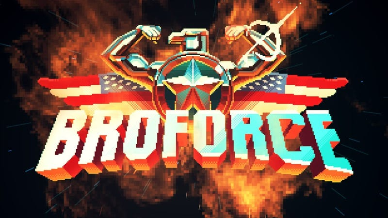 Illustration for article titled Broforce - The NotGoodForReview