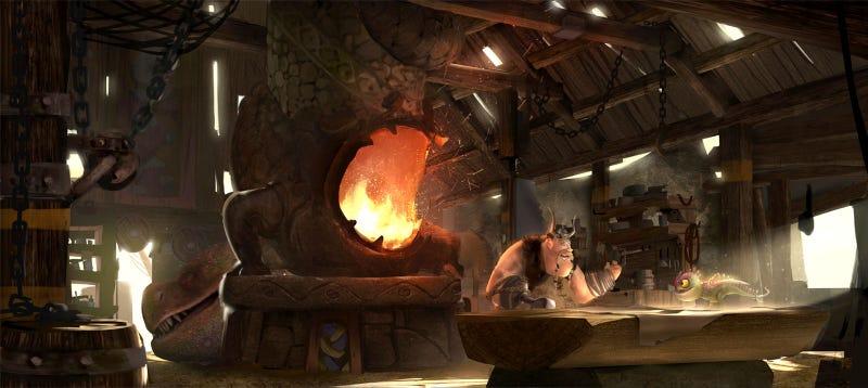Illustration for article titled A Wee Dragon Workshop