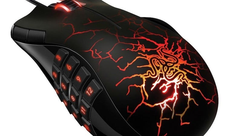 Illustration for article titled Moneysaver One-Shot: Razer Naga Special Edition MMO Gaming Mouse