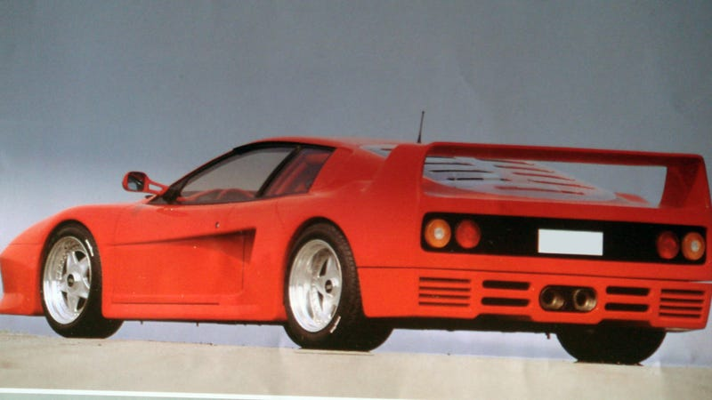 Illustration for article titled This Ferrari Is Not An F40