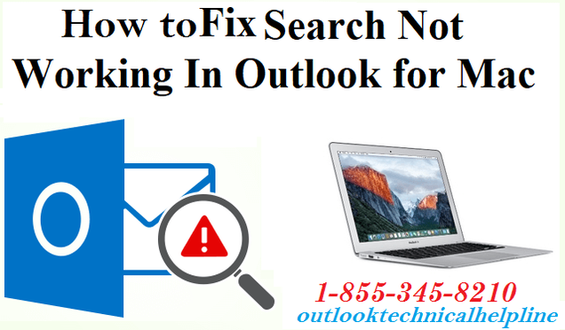 outlook for mac search