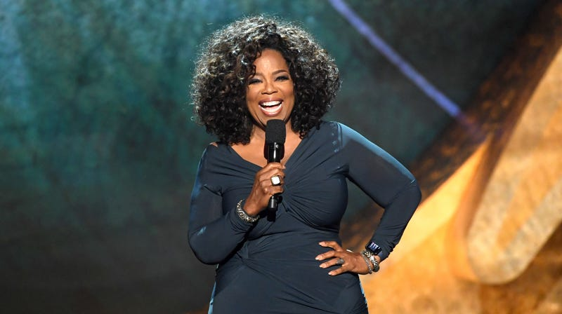 Oprah Winfrey speaks onstage at Q85: A Musical Celebration for Quincy Jones  on September 25, 2018 in Los Angeles, California.