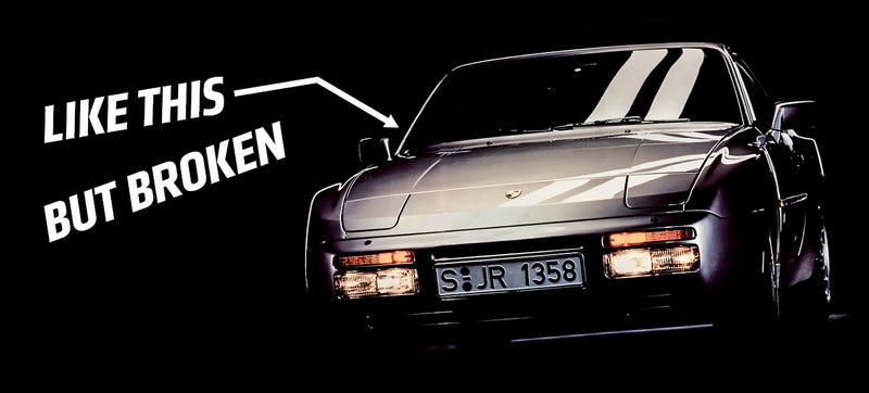 Illustration for article titled Why The Hell Did I Just Buy A Broken Porsche 944 Turbo?