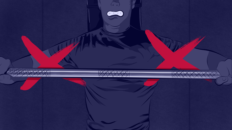 Illustration for article titled The Most Common Bench Press Mistakes and How to Fix Them