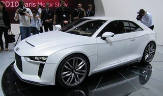 Illustration for article titled Audi Quattro Concept could be produced by 2013