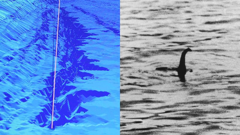 Descubren un abismo en el fondo del Lago Ness tan grande como para esconder un monstruo
