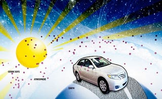 Illustration for article titled Feds Study Whether Toyota's Problems Caused By Cosmic Rays