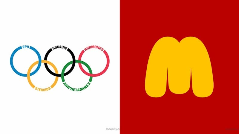 these parody logos of famous brands are more honest than the real logos