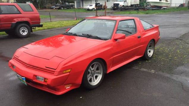 1988 Chrysler Conquest Tsi For Sale Or Trade: For $5,200, Your Driveway Could Be This 1988 Chrysler