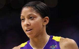 Los Angeles Sparks player Candace Parker (Christian Petersen/Getty Images)