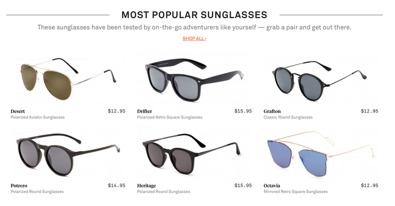 40% Off Sitewide | Sunglass Warehouse | Promo code DISCOVER40