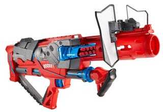 Illustration for article titled This Sleek Toy Blaster Gun Is a Wonder of Science