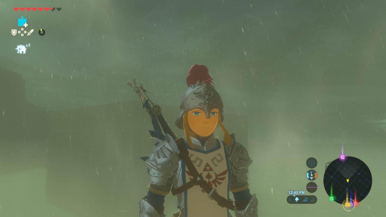I Swear, If It Rains In Zelda: Breath of the Wild One More