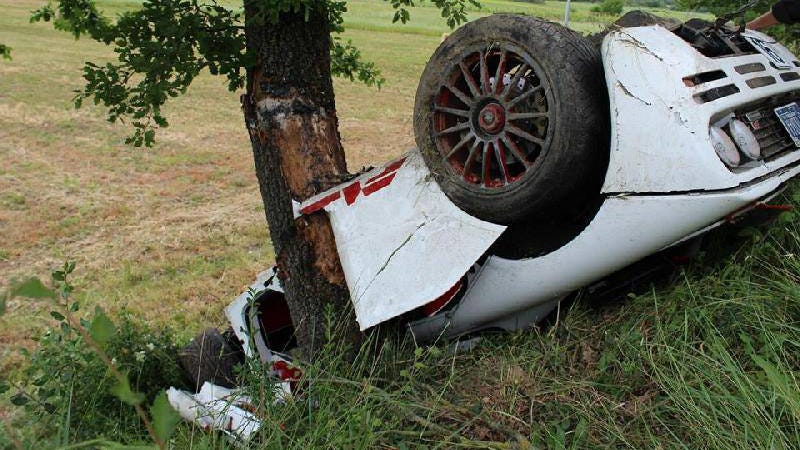 Holy Crap Someone Just Flipped This Gorgeous McLaren F1 In