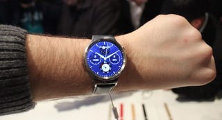 Illustration for article titled Huawei's Android Wear Watch Is Handsome, But Still Too Bulky