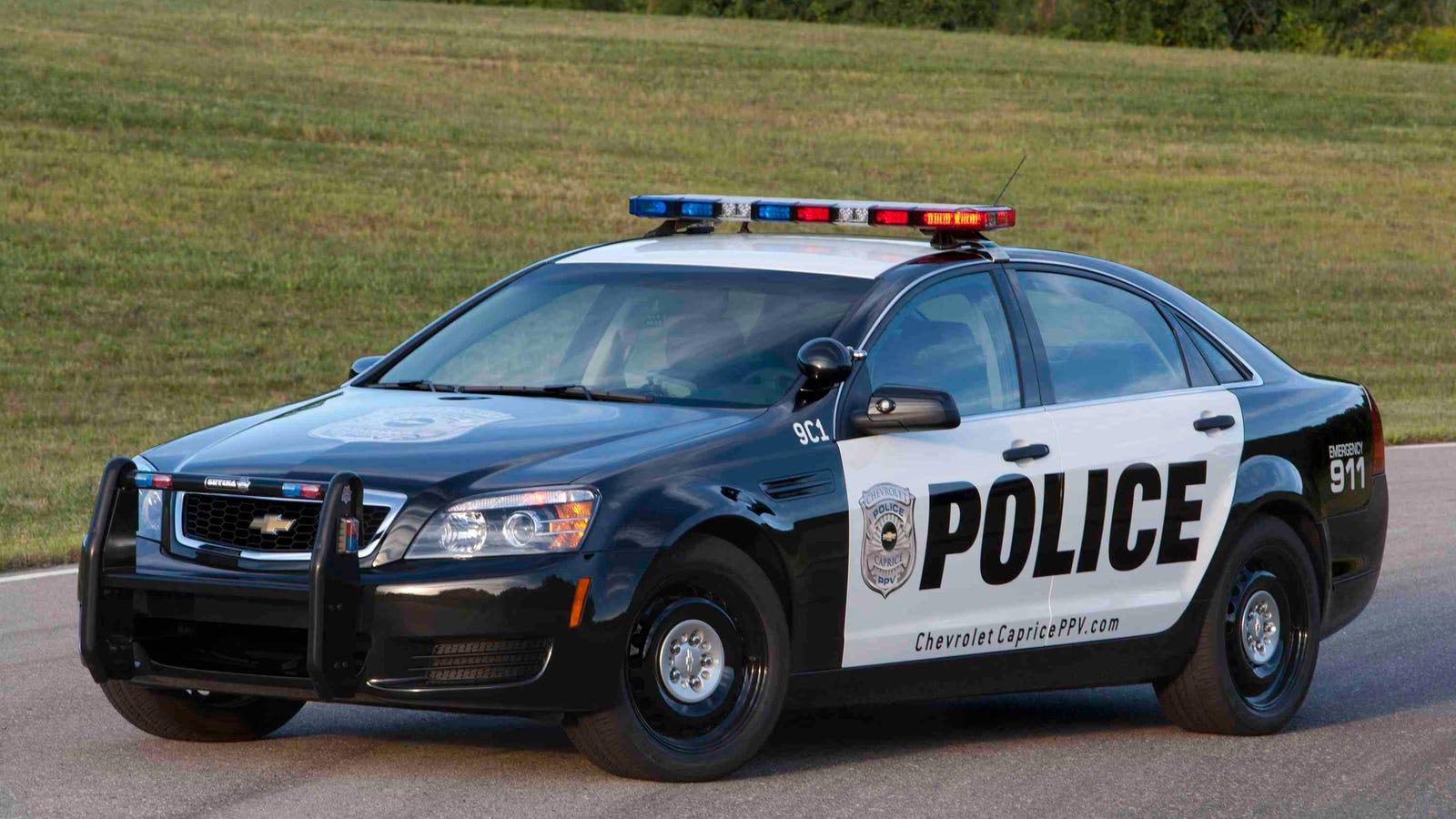 Future of general motors police vehicles for General motors new cars